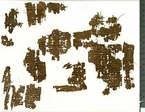 Psalm 46 - Papyrus Oxyrhynchus 5101, oldest copy of Psalm 46.