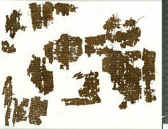 Psalm 46 - Papyrus Oxyrhynchus 5101, oldest copy of Psalm 46.