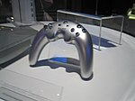 """The 2005 """"Boomerang"""" or """"Banana"""" controller which was soon abandoned after it's poor publicity"""