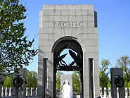 Pacific Arch WWII Mem