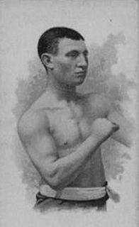 Paddy Duffy Irish-American and the first World Welterweight champion