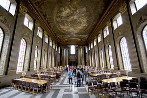 Greenwich Hospital, London - The Painted Hall