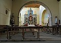 Pajares de la Lampreana, Iglesia de San Pedro, interior, 01.jpg