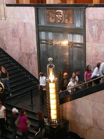 Palacio de Bellas Artes - Treppenaufgang 1