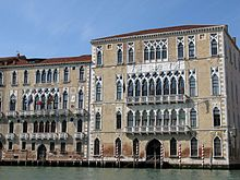 Ca' Foscari Palace, the main seat of Ca' Foscari University of Venice