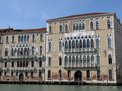Palazzo Ca' Foscari lato Canal Grande