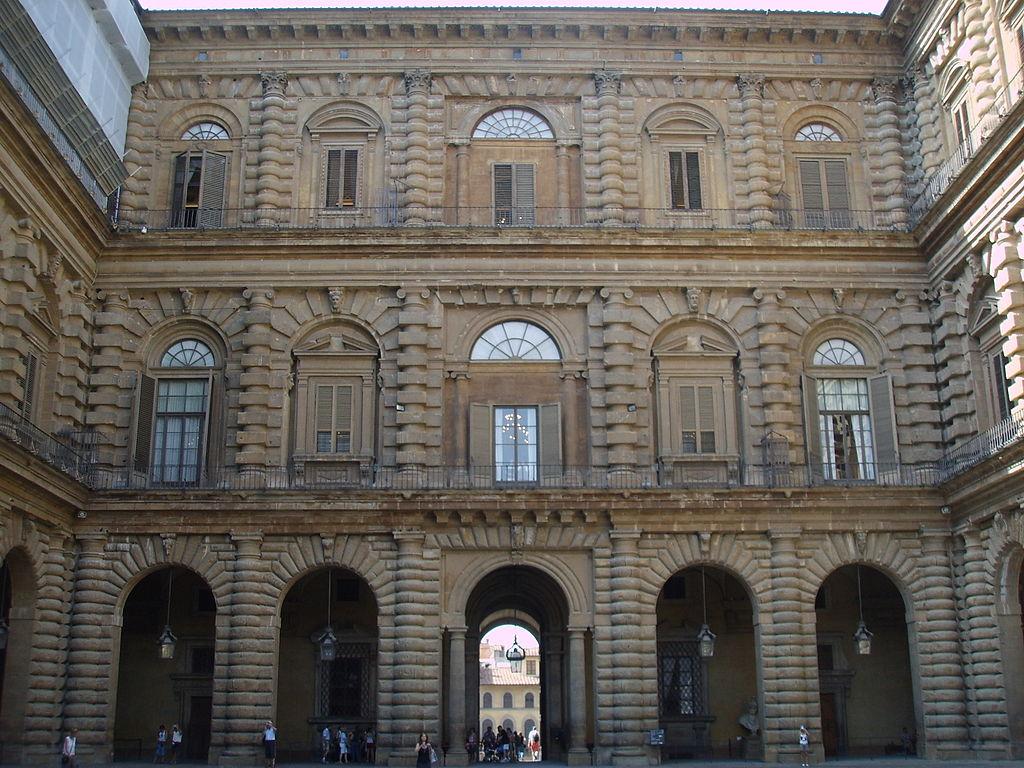 File palazzo pitti cortile 1 jpg wikimedia commons for Palazzo pitti