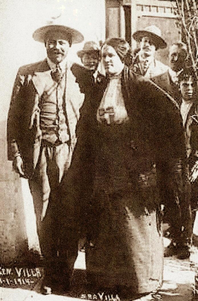 Pancho Villa y Luz Corral de Villa