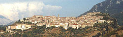 Panoramic view of Laurino