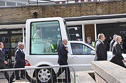 Papal visit in Westminster (17th September 2010)