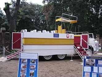 Popemobile - Polish FSC Star