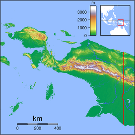 Mount Yamin is located in Papua