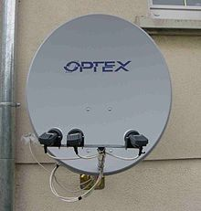 T l vision par satellite wikip dia - Orientation antenne tv ...