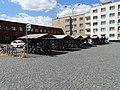 Pardubice, náměstí Jana Pernera, kola před nádražím.jpg