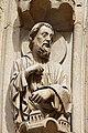 Paris - Cathédrale Notre-Dame - Portail de la Vierge - PA00086250 - 076.jpg