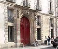 Paris - Hôtel d'Hozier - porte.JPG