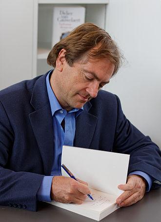 Didier Van Cauwelaert - Image: Paris Salon du livre 2013 Didier Van Cauwelaert 002
