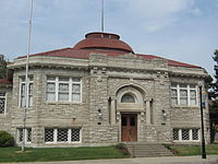 Parsons, KS former public library building funded by Andrew Carnegie..jpg