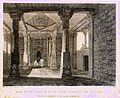 Part of the interior of an Hindoo Temple, at Deo, in Bahar, from Rees's Cyclopedia, 1802.JPG