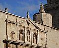 Part superior de la façana, convent de sant Doménec, València.JPG