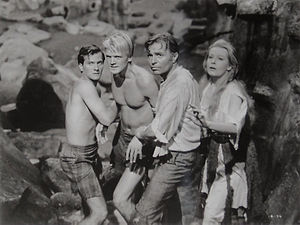 Pat Boone, Peter Ronson, James Mason, Arlene Dahl, Journey to the Center of the Earth, 1959