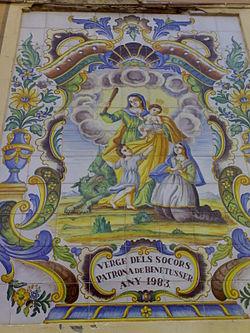 socorro - N.S. del Socorro/Arcángel San Miguel (R.M. SXVIII O152) 250px-Patrona_de_Benet%C3%BAsser