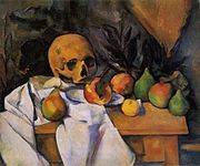 Paul Cezanne Nature morte au crane.jpg