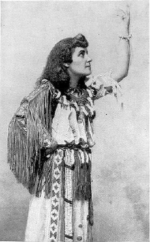 E. Pauline Johnson - E. Pauline Johnson posing.
