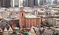 Paulskirche from Frankfurter Dom during Weihnachtsmarkt 2012.jpg