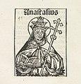 Paus Anastasius I Anastasius (titel op object) Liber Chronicarum (serietitel), RP-P-2016-49-59-9.jpg