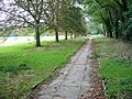 Paved path by playing field - geograph.org.uk - 1074605.jpg