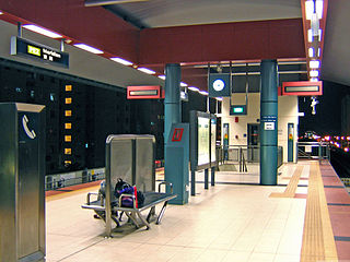 Meridian LRT station LRT station in Singapore