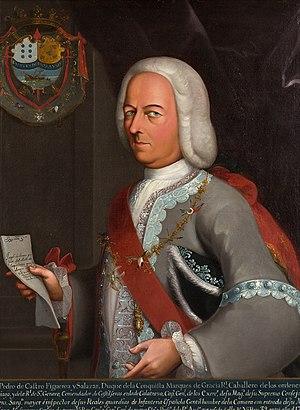 Pedro de Castro, 1st Duque de la Conquista - Image: Pedro de Castro y Figueroa