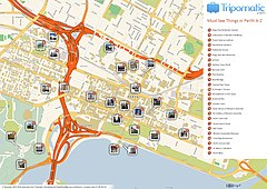 Perth printable tourist attractions map.jpg