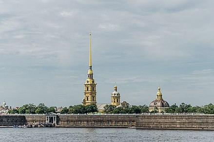 Peter and Paul Fortress Peter & Paul fortress in SPB.jpg