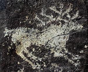 фарфор с знаком голова лося