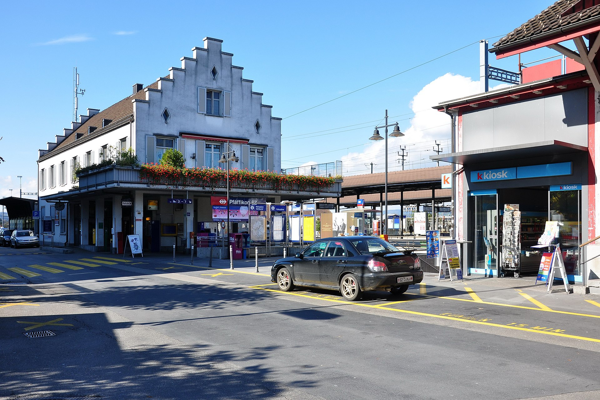Pfäffikon SZ railway station  Wikipedia