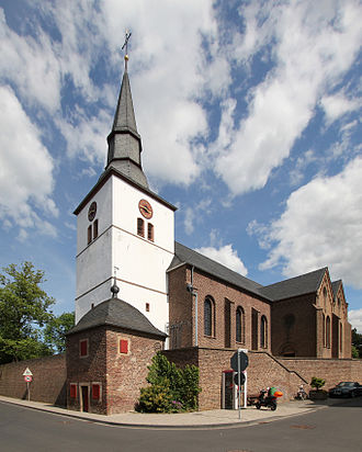 Erp (Germany) - St. Pantaleon's church in the centre of the village