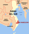 Ph locator davao del sur don marcelino.png