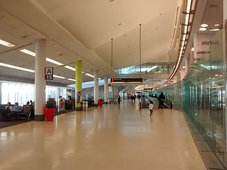 Philadelphia International Airport - Interior of Terminal A West