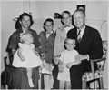 Photograph of Representative Gerald R. Ford with his Wife Betty and Their Children - NARA - 186865.tif