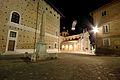 Piazza Rinascimento, scorcio su Palazzo Ducale e Piazza Duca Federico.JPG