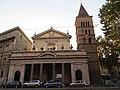 Piazza Sidney Sonnino - Parrocchia San Crisogono - panoramio.jpg
