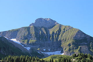 Pic de Jallouvre mountain in France