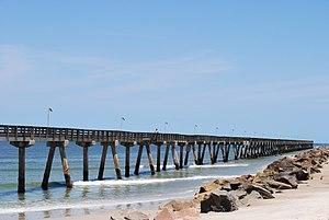 Nassau County, Florida - Image: Pier FBFL