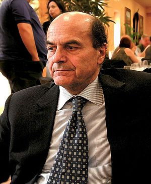 Pier Luigi Bersani in Agrigento