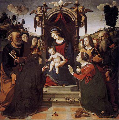 Piero di cosimo, sacra conversazione del pugliese.jpg
