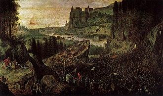 The Suicide of Saul - Image: Pieter Bruegel the Elder The Suicide of Saul WGA3325