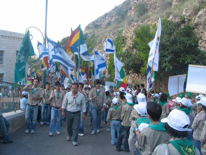PikiWiki Israel 1337 Druze scouts at jethro holy place %D7%A6%D7%95%D7%A4%D7%99%D7%9D %D7%93%D7%A8%D7%95%D7%96%D7%99%D7%9D %D7%91%D7%A7%D7%91%D7%A8 %D7%99%D7%AA%D7%A8%D7%95