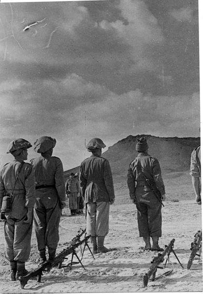 מבצע חורב - הגדוד השביעי באיזור המשרפה